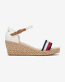 Tommy Hilfiger Shimmery Ribbon Buty wedge