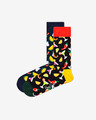 Happy Socks Taco Socks Gift Set 2-pack Skarpetki